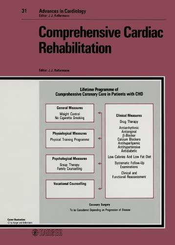 Comprehensive Cardiac Rehabilitation: 2nd World Congress on Cardiac Rehabilitation, Jerusalem, ...