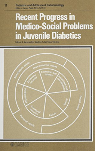 9783805535946: Recent Progress in Medico-Social Problems in Juvenile Diabetics (Pediatric & Adolescent Endocrinology)