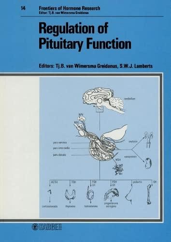 Regulation of Pituitary Function.: Greidanus, Tj. B.