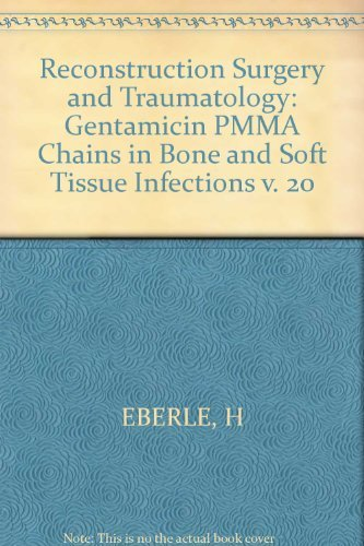Reconstruction Surgery and Traumatology / Gentamicin-PMMA-Chains in: Eberle Heinz, Chapchal