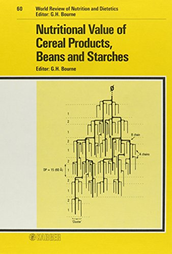 9783805549929: Nutritional Value of Cereal Products, Beans and Starches (World Review of Nutrition and Dietetics, Vol. 60) (v. 60)