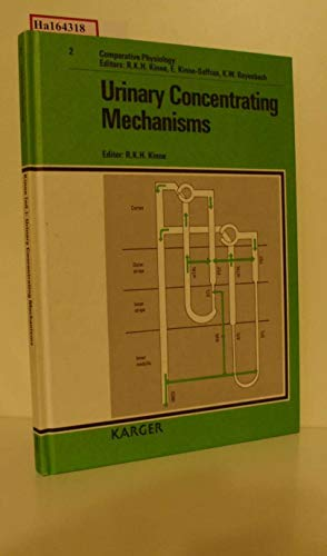 9783805550260: Urinary Concentrating Mechanisms