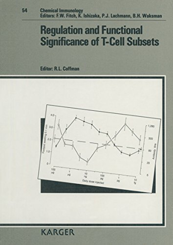 Regulation and Functional Significance of T-Cell Subsets (Chemical Immunology and Allergy) (v. 54):...