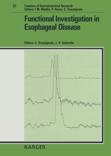 9783805556095: Functional Investigation in Esophageal Disease (Frontiers of Gastrointestinal Research, Vol. 22)
