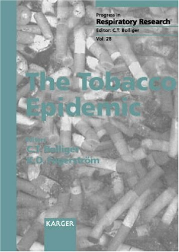 9783805565318: The Tobacco Epidemic (Progress in Respiratory Research, Vol. 28)