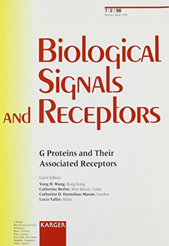 9783805566971: G Proteins and Their Associated Receptors (Biological Signals)