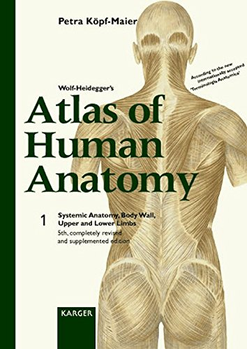 Wolf Heideggers Atlas Of Human Anatomy Volume 1 Systemic Anatomy