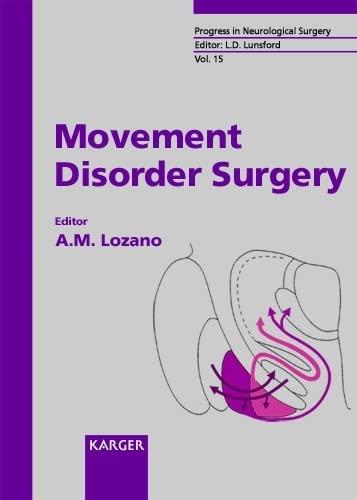 9783805569903: Movement Disorder Surgery (Progress in Neurological Surgery, Vol. 15)