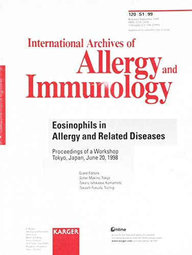 Eosinophils in Allergy and Related Diseases: Workshop,