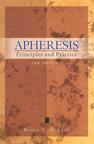 9783805576918: Apheresis: Principles And Practice