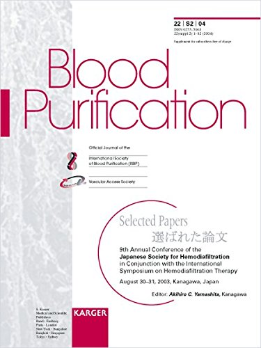 9783805578868: Japanese Society for Hemodiafiltration: 9th Annual Conference, in Conjunction with the International Symposium on Hemodiafiltration Therapy, Kanagawa, August 2003: Selected Papers