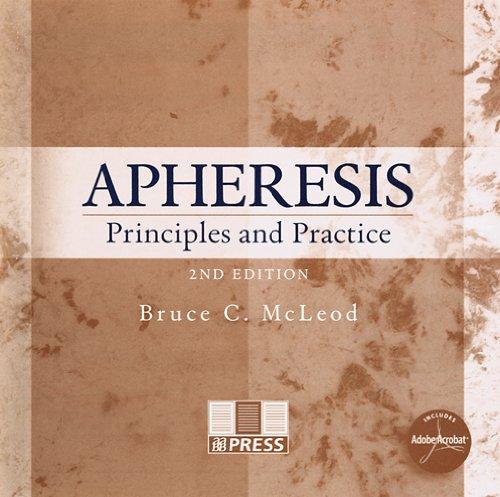 9783805579582: Apheresis: Principles and Practice