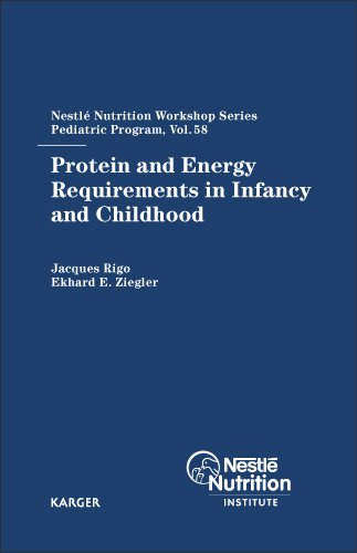 9783805580816: Protein and Energy Requirements in Infancy and Childhood: 58th Nestlé Nutrition Workshop, Pediatric Program, Ho Chi Minh, November 2005 (Nestlé Nutrition Institute Workshop Series, Vol. 58)