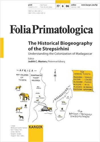 9783805582070: The Historical Biogeography of the Strepsirhini: Understanding the Colonization of Madagascar