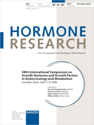 9783805582551: Growth Hormone and Growth Factors in Endocrinology and Metabolism: 38th International Symposium, Granada, April 2006 (Hormone Research)