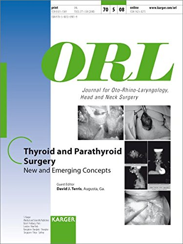 9783805589819: Thyroid and Parathyroid Surgery: New and Emerging Concepts