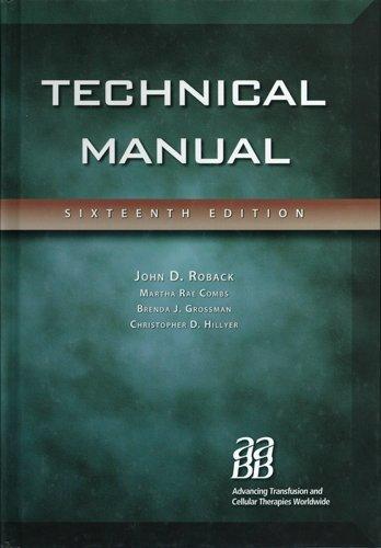 9783805589963: Technical Manual