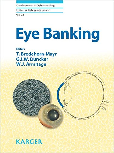 9783805591249: 43: Eye Banking (Developments in Ophthalmology)