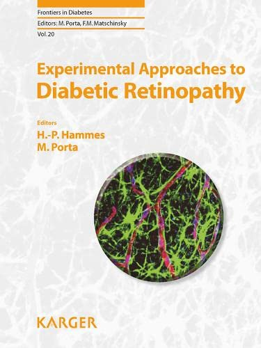 9783805592758: Experimental Approaches to Diabetic Retinopathy (Frontiers in Diabetes, Vol. 20)