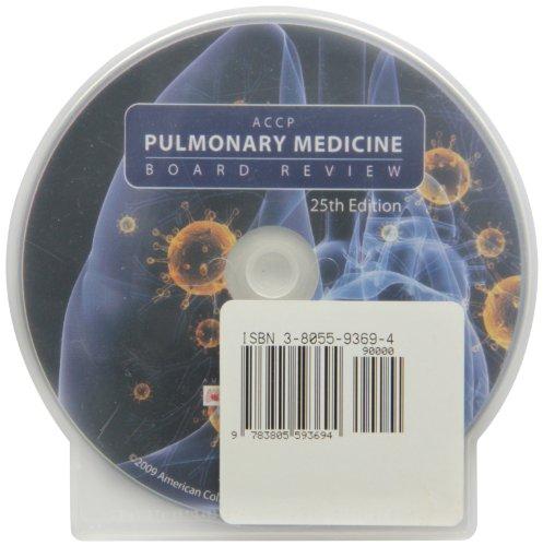 9783805593694: Accp Pulmonary Medicine Board Review