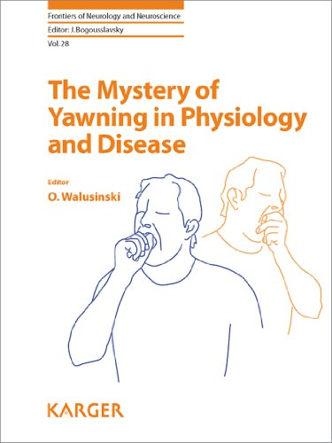 9783805594042: The Mystery of Yawning in Physiology and Disease (Frontiers of Neurology and Neuroscience, Vol. 28)