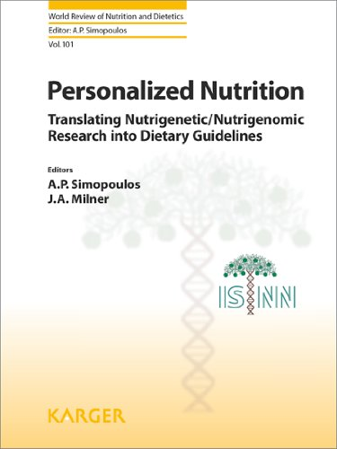9783805594271: Personalized Nutrition: Translating Nutrigenetic/Nutrigenomic Research into Dietary Guidelines (World Review of Nutrition and Dietetics, Vol. 101)