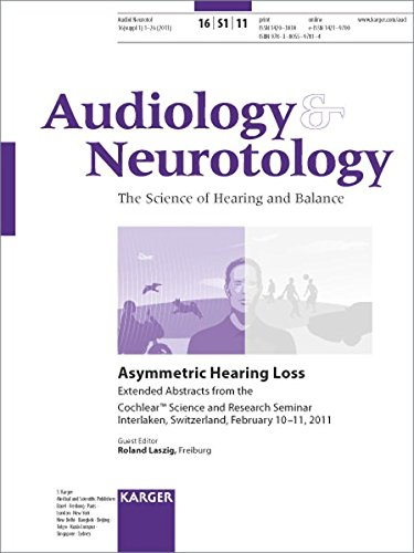 9783805597814: Asymmetric Hearing Loss: Cochlear Science and Research Seminar, Interlaken, February 2011: Extended Abstracts. Supplement Issue: Audiology and Neurotology 2011, Vol. 16, Suppl. 1