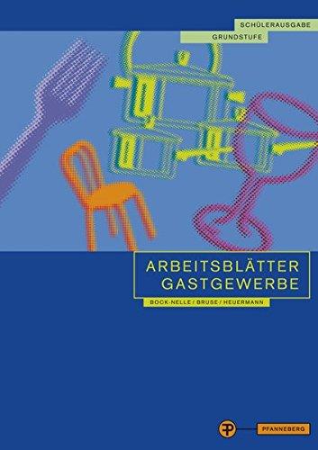 9783805706766: Arbeitsblätter Gastgewerbe. Grundstufe. Schülerausgabe