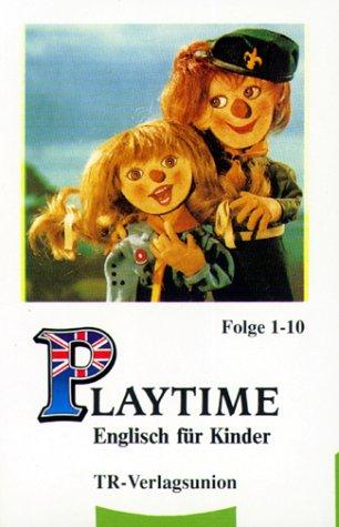 9783805821773: Playtime, Englisch für Kinder, Folge 1-10, 1 Cassette