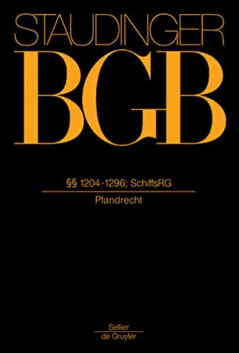 9783805910699: 1204-1296; Schiffsrg: (Pfandrecht) (German Edition)