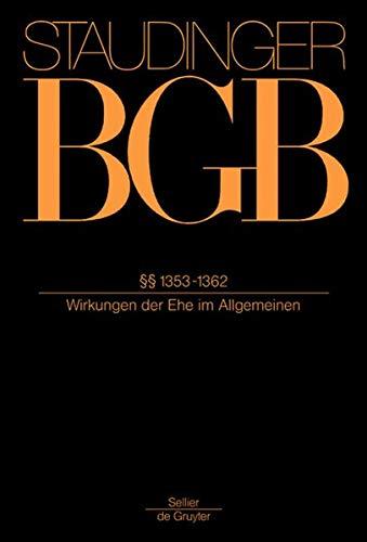 9783805911450: Staudinger BGB P.1353 - 1362 / 2012