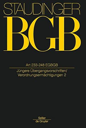 Kommentar zum Bürgerlichen Gesetzbuch (BGB) mit Einführungsgesetz und Nebengesetzen Art ...