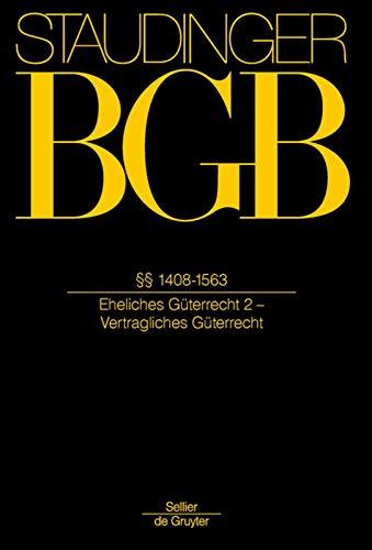 1408-1563: (eheliches Guterrecht 2 - Vertragliches Guterrecht): Burkhard Thiele, Professor ...