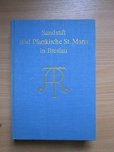 9783806201031: Sandstift und Pfarrkirche St. Maria in Breslau