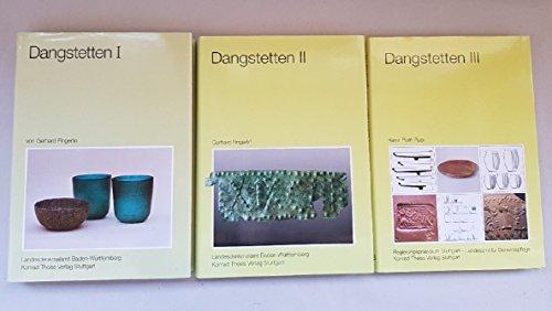 9783806207750: Dangstetten: Katalog der Funde (Forschungen und Berichte zur Vor- und Frühgeschichte in Baden-Württemberg)
