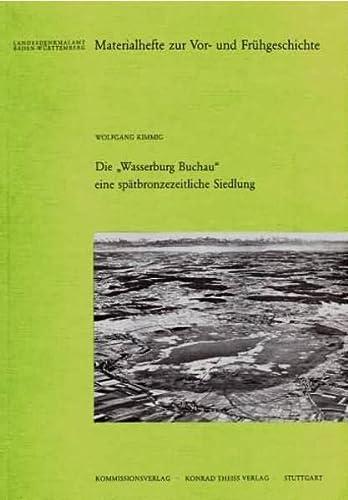 9783806215526: Die 'Wasserburg Buchau'