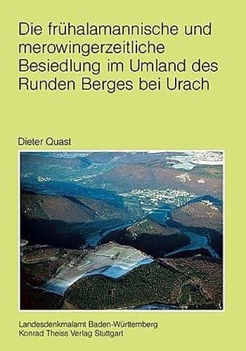 9783806219593: Die frühalamannische und merowingerzeitliche Besiedlung im Umland des Runden Berges bei Urach