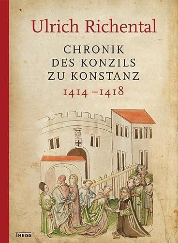 9783806227826: Ulrich Richental: Chronik des Konzils zu Konstanz