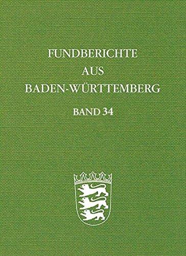 9783806229769: Fundberichte aus Baden-Württemberg 34