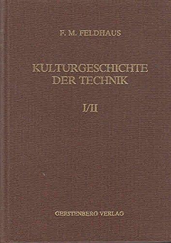 9783806705485: Kulturgeschichte der Technik.