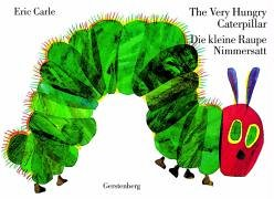 9783806750553: The Very Hungry Caterpillar / Die kleine Raupe Nimmersatt (English / German Edition)
