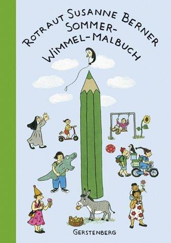 9783806751550: Sommer-Wimmel-Malbuch;