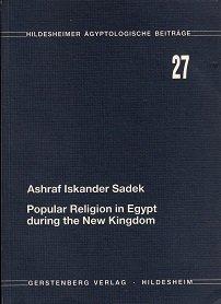 9783806781076: Popular religion in Egypt during the New Kingdom (Hildesheimer agyptologische Beitrage)
