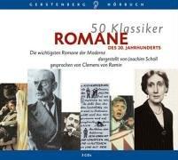 9783806790610: 50 Klassiker. Romane des 20. Jahrhunderts. 3 CDs: Die wichtigsten Romane der Moderne