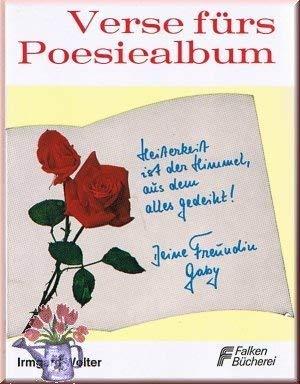 9783806802412: Verse f�rs Poesiealbum
