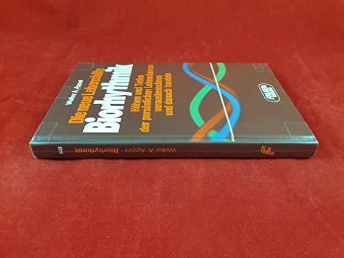 9783806804584: Die neue Lebenshilfe Biorhythmik by Appel, Walter A.
