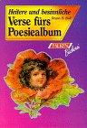 9783806815436: Heitere und besinnliche Verse fürs Poesiealbum.