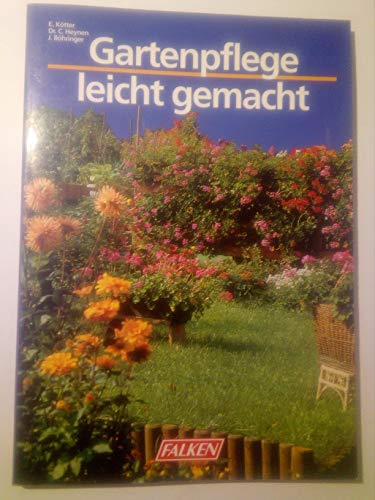 9783806816549: Gartenpflege leicht gemacht