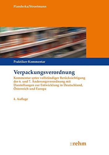 Verpackungsverordnung: Clemens Stroetmann