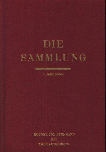 Die Sammlung - Literarische Monatsschrift / Klaus: Mann, Klaus [Hrsg.]